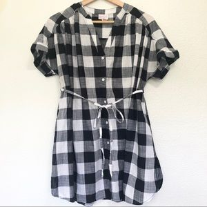 Ingrid & Isabel Plaid Maternity Top